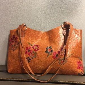 Handbags - Leather Boho Handbag
